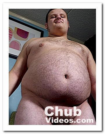 A hairy young chubby cub