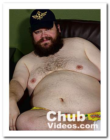 Colin Wood - a chubby bearded trucker bear
